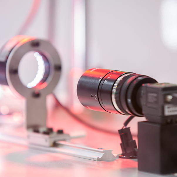 measurement with laser optics